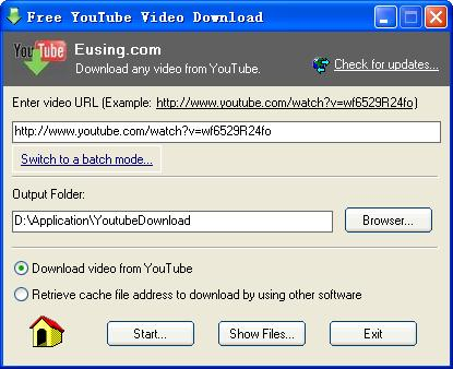 Free YouTube Video Download Screen shot